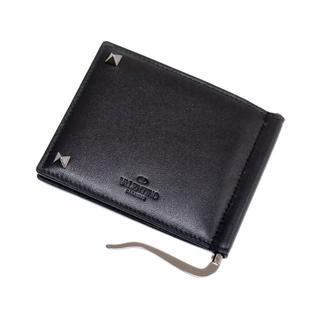 ジャンニバレンチノ(GIANNI VALENTINO)のVALENTINOロックスタッズ マネークリップ財布(マネークリップ)