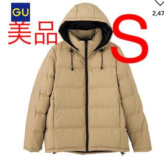 ジーユー(GU)の美品♡GU フーテッドコート(ダウンコート)
