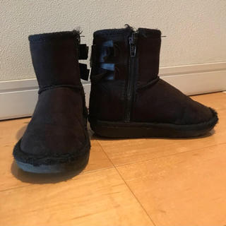 サニーランドスケープ(SunnyLandscape)のブーツ 15センチ 黒 サニーランドスケープ(ブーツ)