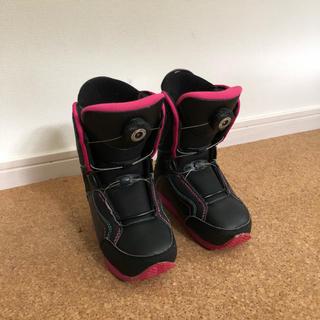 キッズ スノーボードブーツ 18〜19センチ swivel(ブーツ)