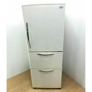 ヒタチ(日立)の冷蔵庫 日立 レトロデザイン シルクベージュ(冷蔵庫)