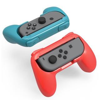ニンテンドースイッチ(Nintendo Switch)の新品☆任天堂スイッチ☆コントローラーハンドル☆2個セット☆送料無料(家庭用ゲーム本体)