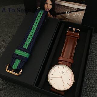ダニエルウェリントン(Daniel Wellington)の期間限定お値下DW 時計とベルト ST MAWESとCAMBRIDGE メンズ用(腕時計(アナログ))