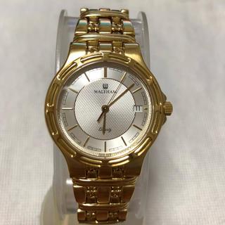 ウォルサム(Waltham)のロンサム6609様 専用  WALTHAM クォーツ時計(腕時計(アナログ))