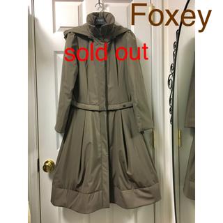 フォクシー(FOXEY)のFoxey short&long 3wayコート 中綿入り 40サイズ(ロングコート)
