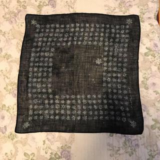 フォーティファイブアール(45R)の45 R   藍染スカーフ(バンダナ/スカーフ)