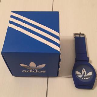アディダス(adidas)のadidas 腕時計  ブルー(腕時計(アナログ))