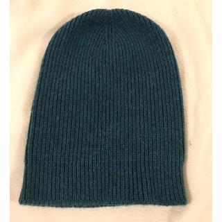 バーニーズニューヨーク(BARNEYS NEW YORK)のニット帽 ビニー ニットキャップ(ニット帽/ビーニー)