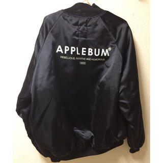 アップルバム(APPLEBUM)のApplebum ナイロンジャケット 黒(ナイロンジャケット)