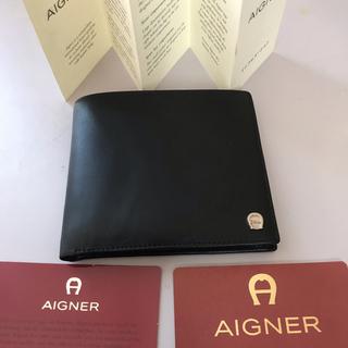 アイグナー(AIGNER)のAigner 二つ折り財布 カードケース 新品(折り財布)