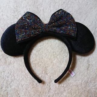 ディズニー(Disney)のミニーマウス カチューシャ ディズニー キラキラ マルチカラー(カチューシャ)
