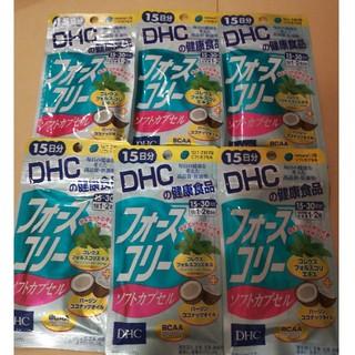 DHC - DHC フォースコリーソフトカプセル15日分×6袋