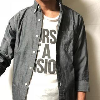 GU - GU(ジーユー)七分袖シャツ