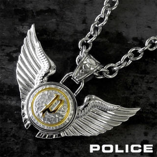POLICE - 【美品】POLICE DOUBLE WINGS ネックレス