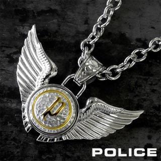 ポリス(POLICE)の【美品】POLICE DOUBLE WINGS ネックレス(ネックレス)