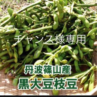 丹波篠山黒枝豆   さやのみ1キロ分(野菜)