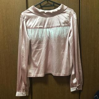 フォーリン(Fallin')のFICTION TOKYO サテンシャツ(シャツ/ブラウス(長袖/七分))