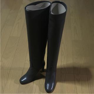 ロートレショーズ(L'AUTRE CHOSE)の美品:L'AUTRE CHOSE イタリア製レザーロングブーツ(ブーツ)