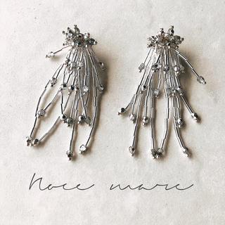 non-hiro様専用 -silver shower- イヤリング変更(イヤリング)