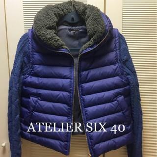 アトリエシックス(ATELIER SIX)のアトリエシックスジャケット ダウンジャケット(ノーカラージャケット)