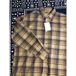 ワンエルディーケーセレクト(1LDK SELECT)の18aw オーラリー ウールチェックシャツ(シャツ)