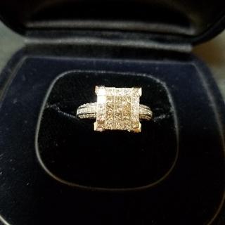18K ダイヤモンドリング(リング(指輪))