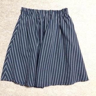 ローリーズファーム(LOWRYS FARM)のストライプスカート(ミニスカート)