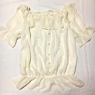 シマムラ(しまむら)のSorridere シフォントップス(カットソー(半袖/袖なし))