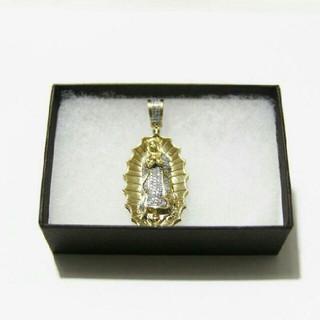 アヴァランチ(AVALANCHE)のアヴァランチ AVALANCHE  10k ゴールド マリア ネックレス ダイア(ネックレス)