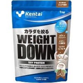 ケンタイ(Kentai)の新品 kentai ソイプロテイン ウエィトダウン ココア味 1kg(プロテイン)