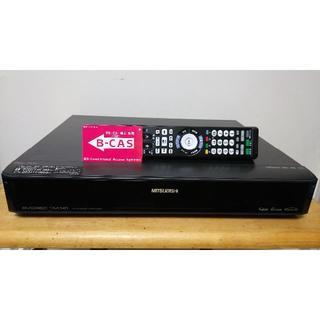 ミツビシ(三菱)の三菱 フルハイビジョンHDD/DVDレコーダー DVR-DW100 作動品(DVDレコーダー)