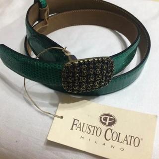 ザネラート(ZANELLATO)の新品未使用 ファウストコラート FAUSTO COLATO リザードベルト(ベルト)
