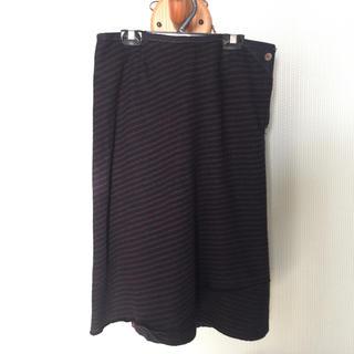 フォーティファイブアール(45R)のパラスパレス ウールスカート(ひざ丈スカート)