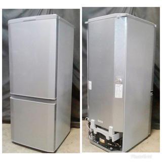 ミツビシデンキ(三菱電機)の人気モデル  三菱 大き目 2 ドア 146 L  霜取り不要(冷蔵庫)