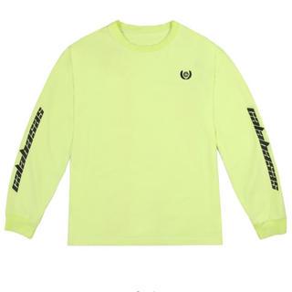 アディダス(adidas)の YEEZY CALABASAS LONG SLEEVE イージー ロンT(Tシャツ/カットソー(七分/長袖))