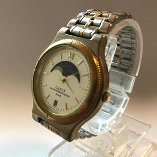 セイコー(SEIKO)のSEIKO ALBA  ムーンフェイス   アンティークウォッチ  ゴールド(腕時計(アナログ))