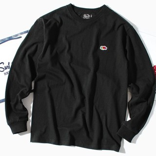 ロンハーマン(Ron Herman)のfruit of the loom ロンT 長袖Tシャツ 黒M(Tシャツ/カットソー(七分/長袖))
