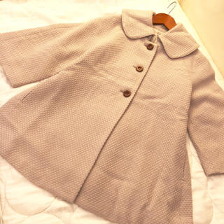 アデュートリステス(ADIEU TRISTESSE)の新品ADIEU TRISTESSE luxe 鹿の子織り ウールコート(ロングコート)