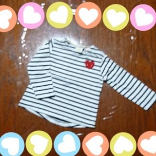 ザラ(ZARA)のbaby☆ボーダーTシャツ☆80(Tシャツ)