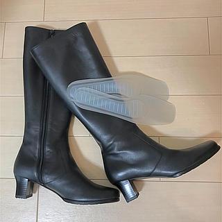 ヒミコ(卑弥呼)の新品未使用*卑弥呼 ブラックブーツ(ブーツ)