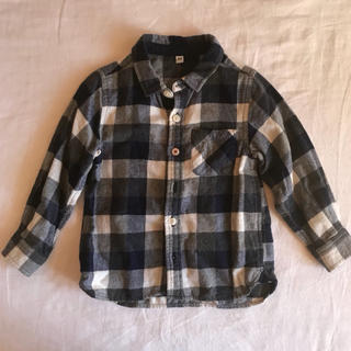 MUJI (無印良品) - 無印チェックシャツ