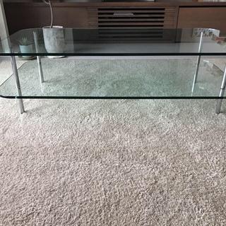 カルテル(kartell)の超美品・コンランショップ購入 sax coffee table ガラステーブル(ローテーブル)