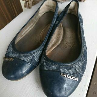 コーチ(COACH)のCOACH靴パンプスミュールスニーカーレディース24㎝PRADAブランドシューズ(ミュール)