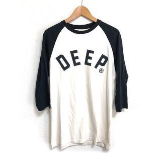テンディープ(10Deep)の美品 10DEEP ロゴ ラグラン 七分袖 10ディープ 送料込み(Tシャツ/カットソー(七分/長袖))