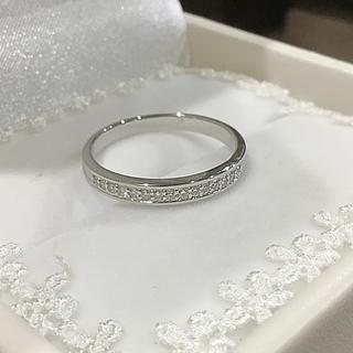 momonaru様専用☆エステール✨ K18WG ダイヤ ハーフエタニティリング(リング(指輪))
