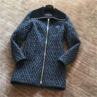 ルイヴィトン(LOUIS VUITTON)のLouis Vuitton ルイ ヴィトン キルティング コート ブラック  Y(ナイロンジャケット)