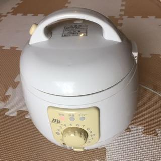 簡単操作の3合炊き炊飯器、保温、便利な炊飯タイマー付き(炊飯器)