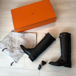 エルメス(Hermes)のエルメス ジャンピングブーツ ブーツ ケリーブーツ ロングブーツ 新品(ブーツ)