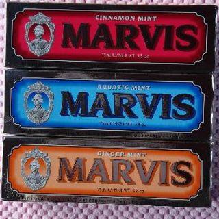 マービス(MARVIS)のdabid730様専用!マービス歯磨き粉75mlX3個 送料込!(歯磨き粉)