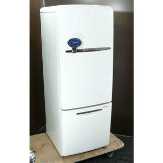 パナソニック(Panasonic)のららちゃん様専用 松下 2005年 大容量162L 中型2ドア冷蔵庫(冷蔵庫)